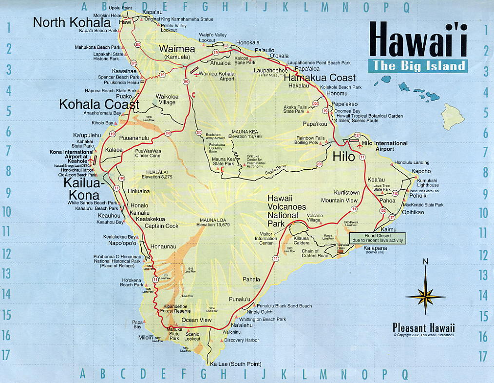 USA Hope Tour Hawaii - Map of hawaii in the us